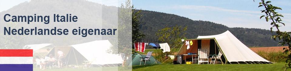 Camping Italie Nederlandse Eigenaar