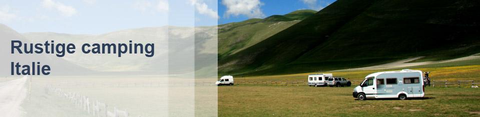 Rustige camping Italie